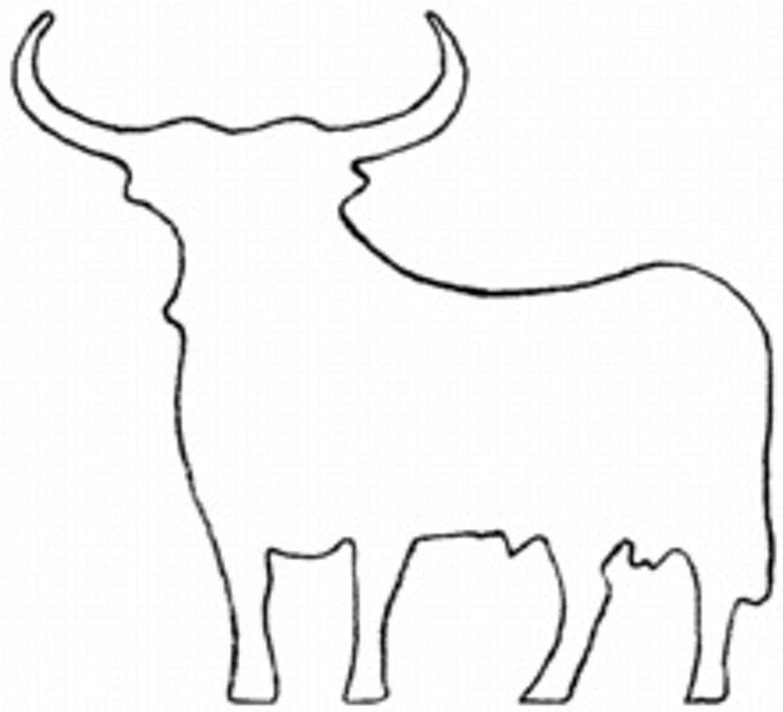 Coloriage Taureau Vache Veau Imprimer Espagnol Coloriage Taureau