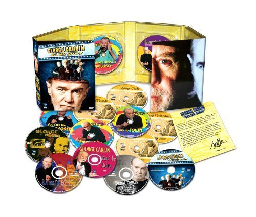George Carlin All My Stuff Dvd Box Set 14 Disc Brand New Sealed Stand Up Comedy George Carlin Carlin George