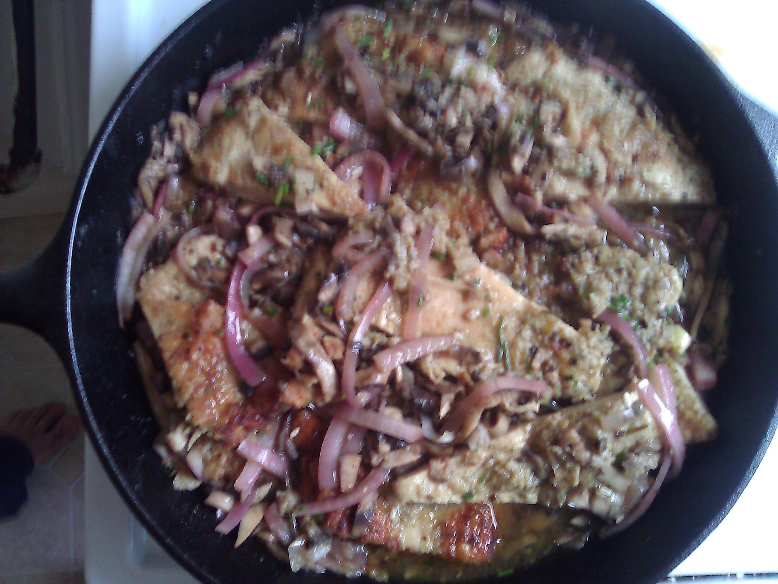 Chicken Marsala made w/luv