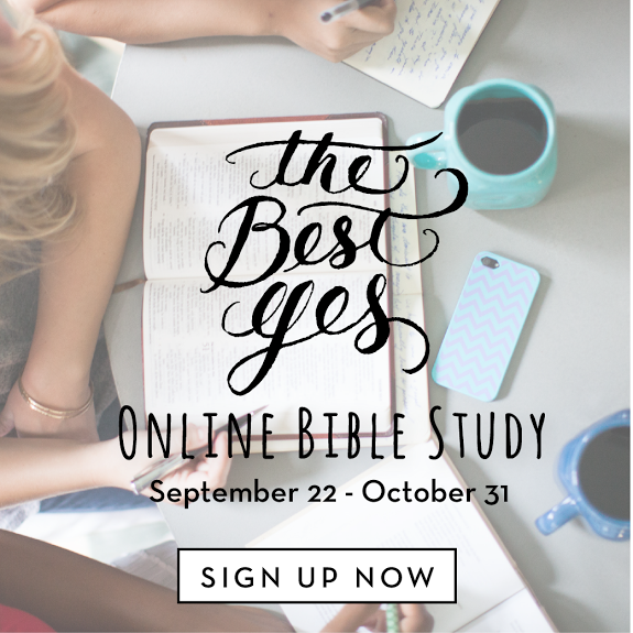 We believe that Proverbs 31 Ministries offers the finest in online Bible study and community. We want women all over the world to have the opportunity to join us!  Next Study: The Best Yes by Lysa TerKeurst Begins:  Mon., September 22, 2014 — sign up to receive the daily (M-F) emails for the study.