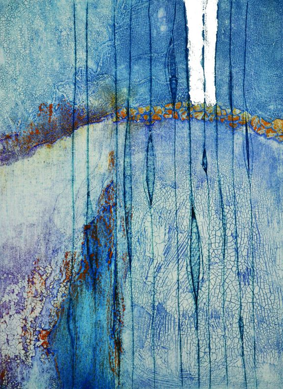 PRINTING WITH TEXTURE: Collagraph & Carborundum Printmaking | Metchosin International Summer School of the Arts