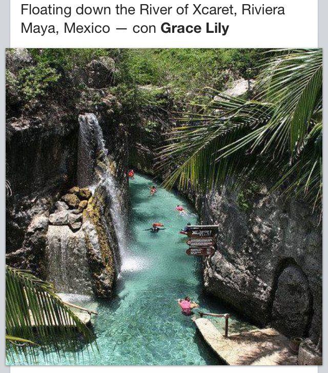 Xcaret, Riviera Maya!!! :) eso estuvo súper :)