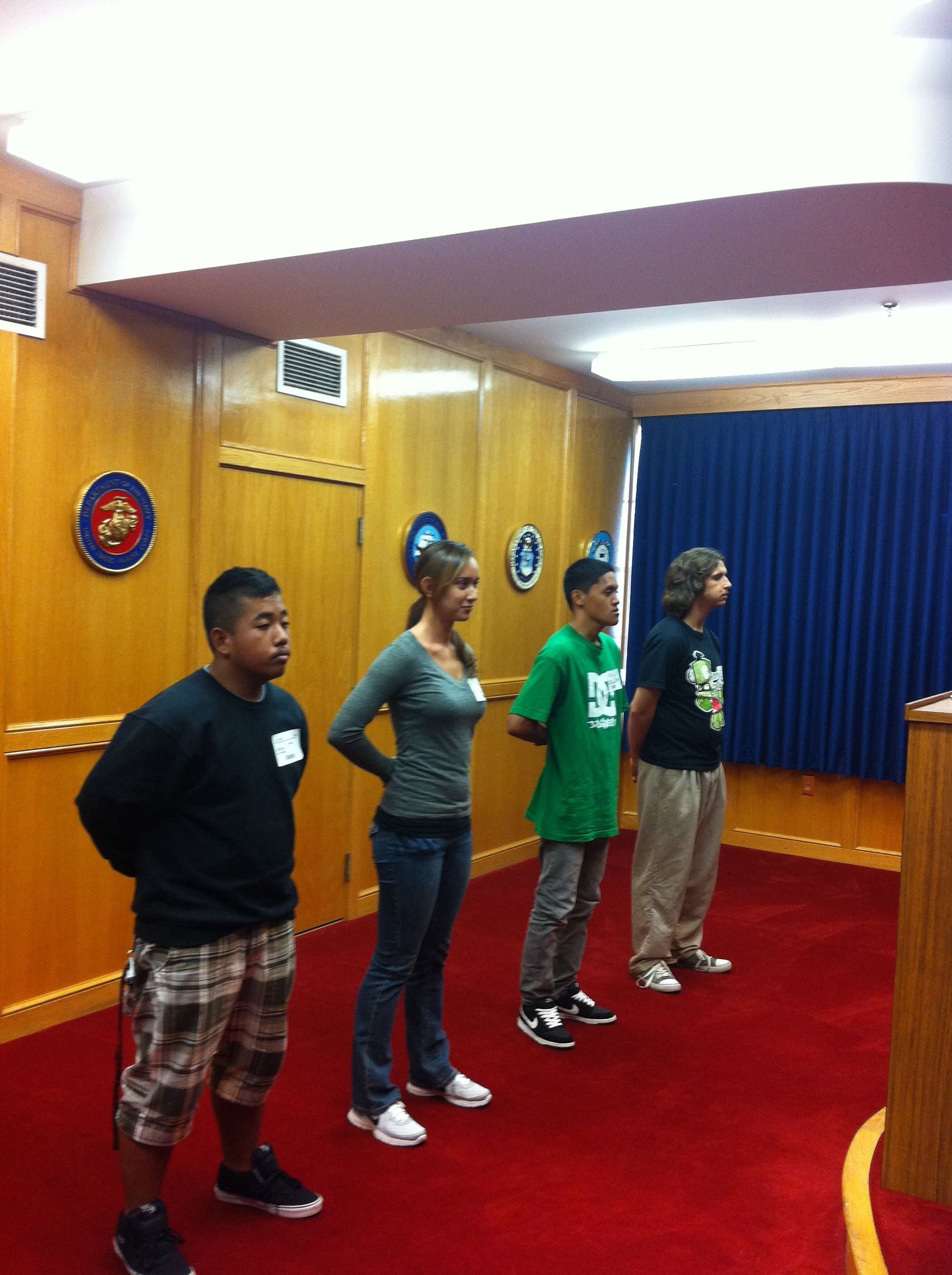 Enlistment into the Hawaii Army National Guard at Honolulu MEPS