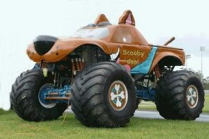 Scooby Doo Monster Truck Wallpaper Free Monster Trucks Trucks Monster Truck Art