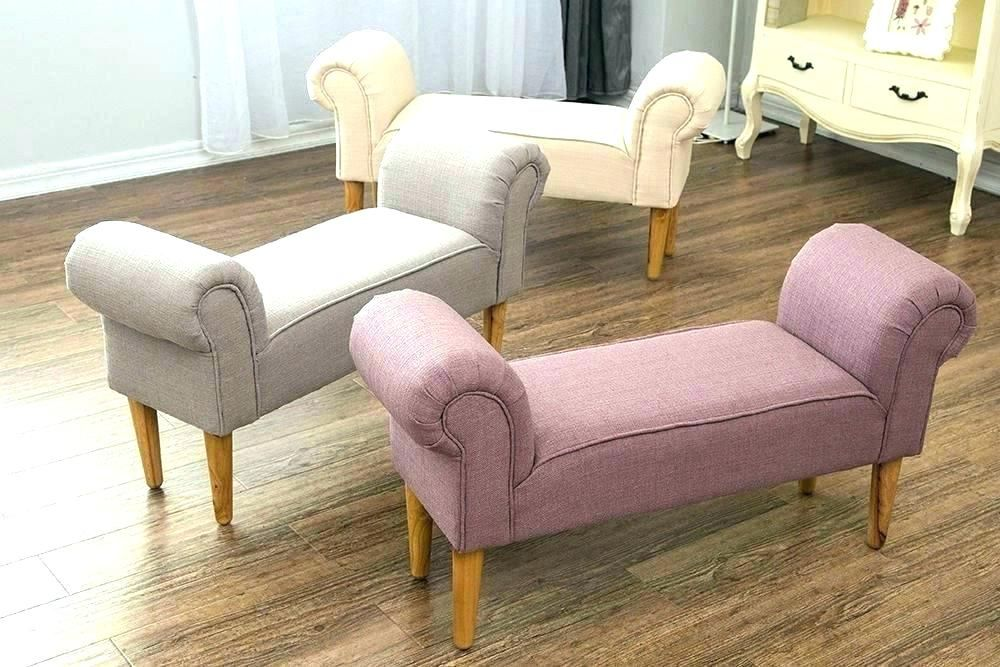 Tyuka Info Bedroom Seating Upholstered Chaise Lounge Fabric Bench