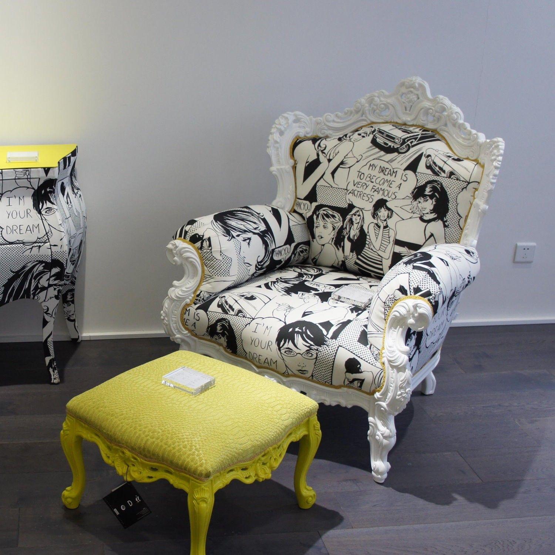 Poltrona Barocca Moderna.Poltrona Barocca Moderna Prince Di Moda Arredaclick Home