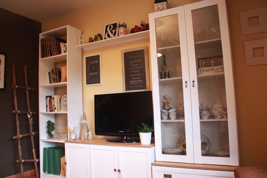 Un cambio impresionante para los muebles del salón | decorar ...