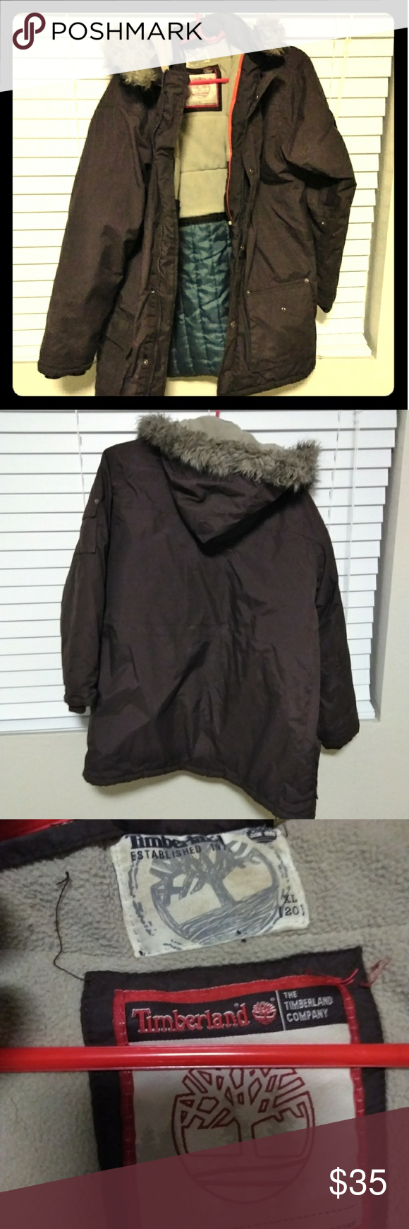 ❄ 🌨️Timberland winter coat🌨 ☃ Nice heavy winter jacket. Could e7e3626a9