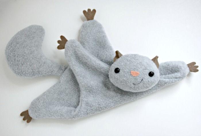 Flying Squirrel - A Free Pattern | Nähen | Nähen, Kuscheltier nähen ...