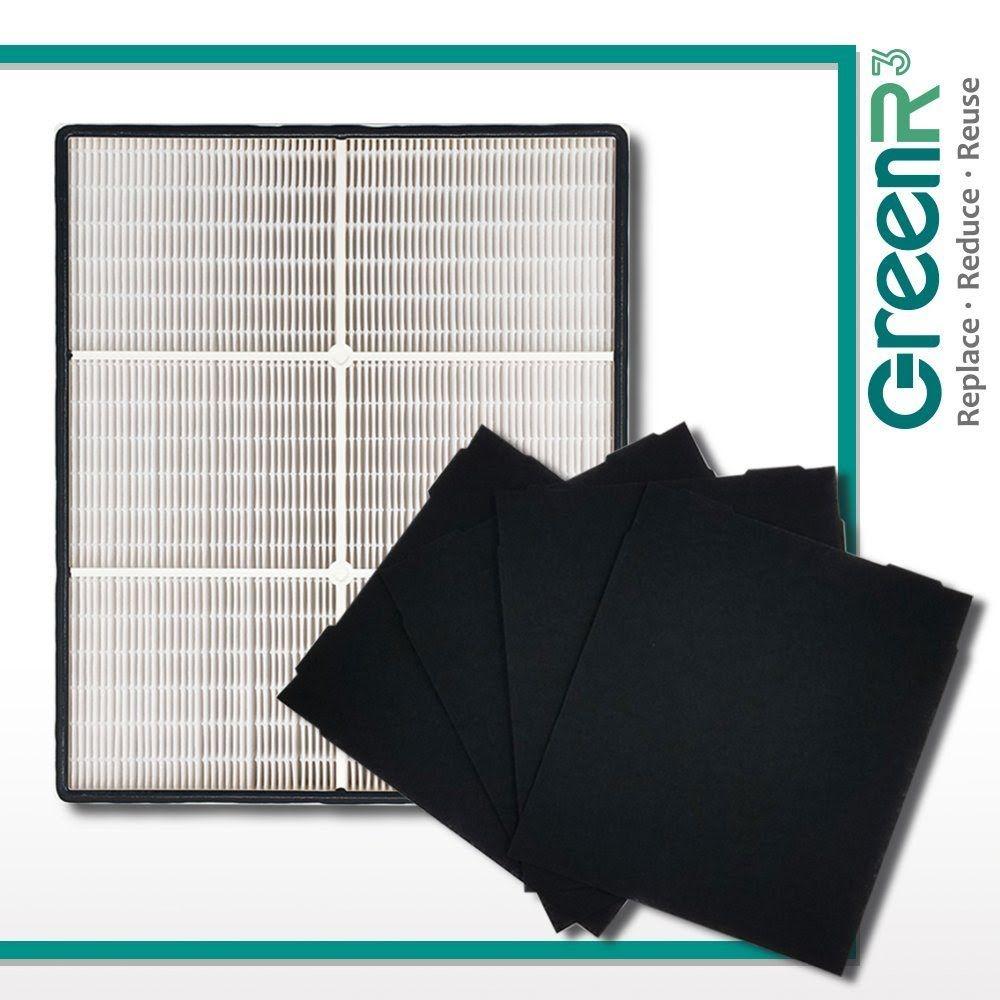 """""""REVIEW"""" GreenR3 Air Purifier True HEPA Air Filter + 4"""
