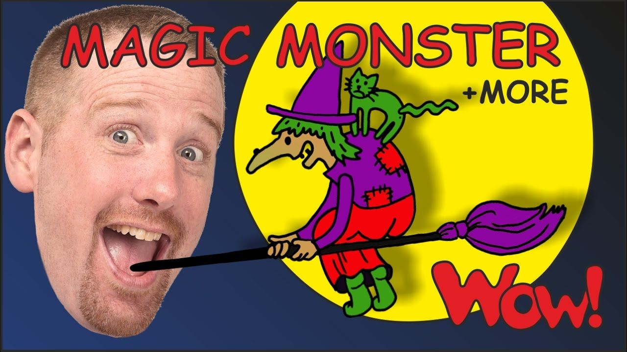 Magic Monster Stories for Kids from Steve and Maggie