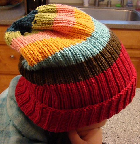 Modern Rib Hat Super Cute Free Pattern Yarn Love