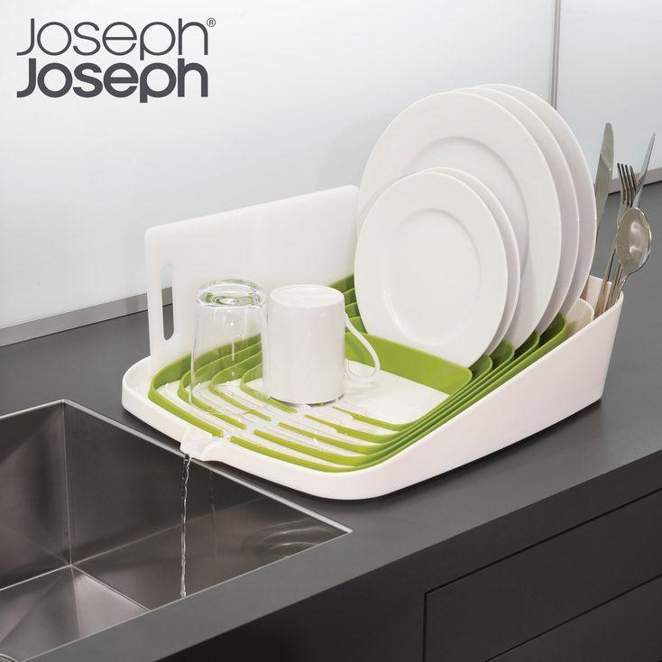 Joseph Joseph Arena Self-Draining Dishrack Cosy Kitchen diner - Produit Nettoyage Mur Exterieur