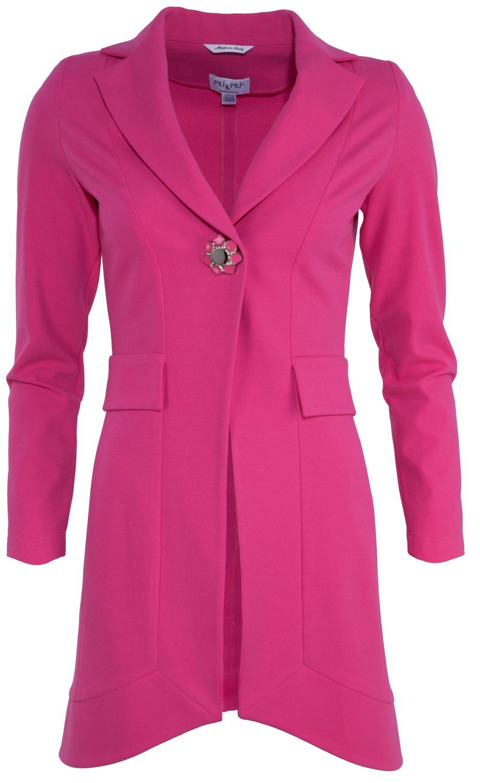 Mantel mit Zierknopf Piu & Piu (mit Bildern) | Mode