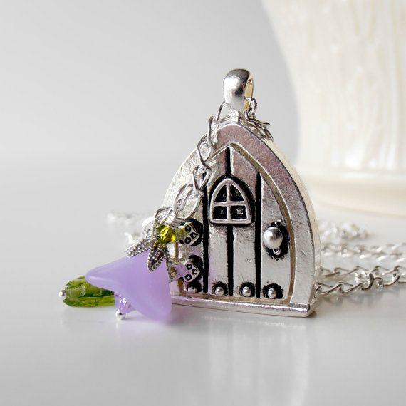 Fairy Door Locket from FiveLittleGems