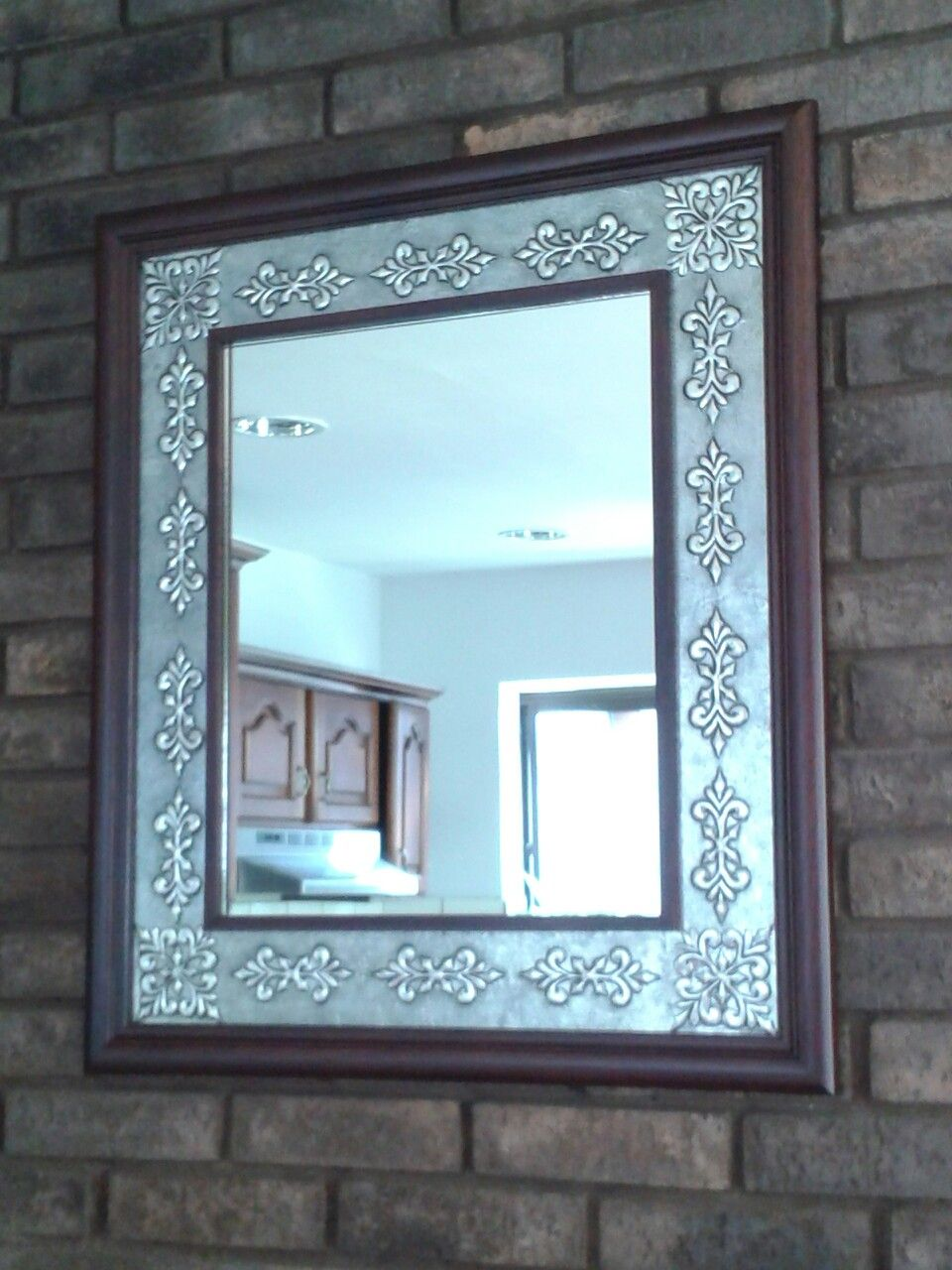 Espejo con marco en repujado artístico. ..Galy Rodriquez | repujado ...