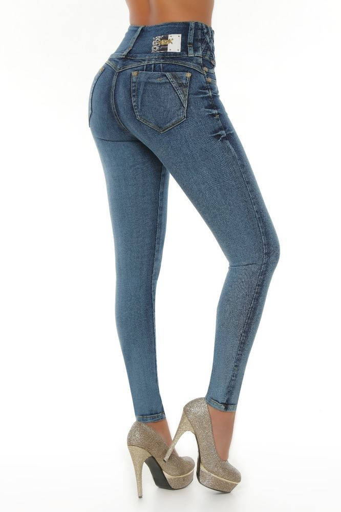 8595ede4ad Verox Jeans colombianos butt lifter fajas colombianas jeans levanta cola  1808  VeroxJeans  SlimSkinny