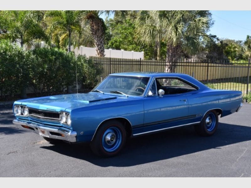 1968 Plymouth Gtx For Sale Classic Car Ad From Collectioncar Com Plymouth Gtx Classic Cars Hot Rods Cars Muscle