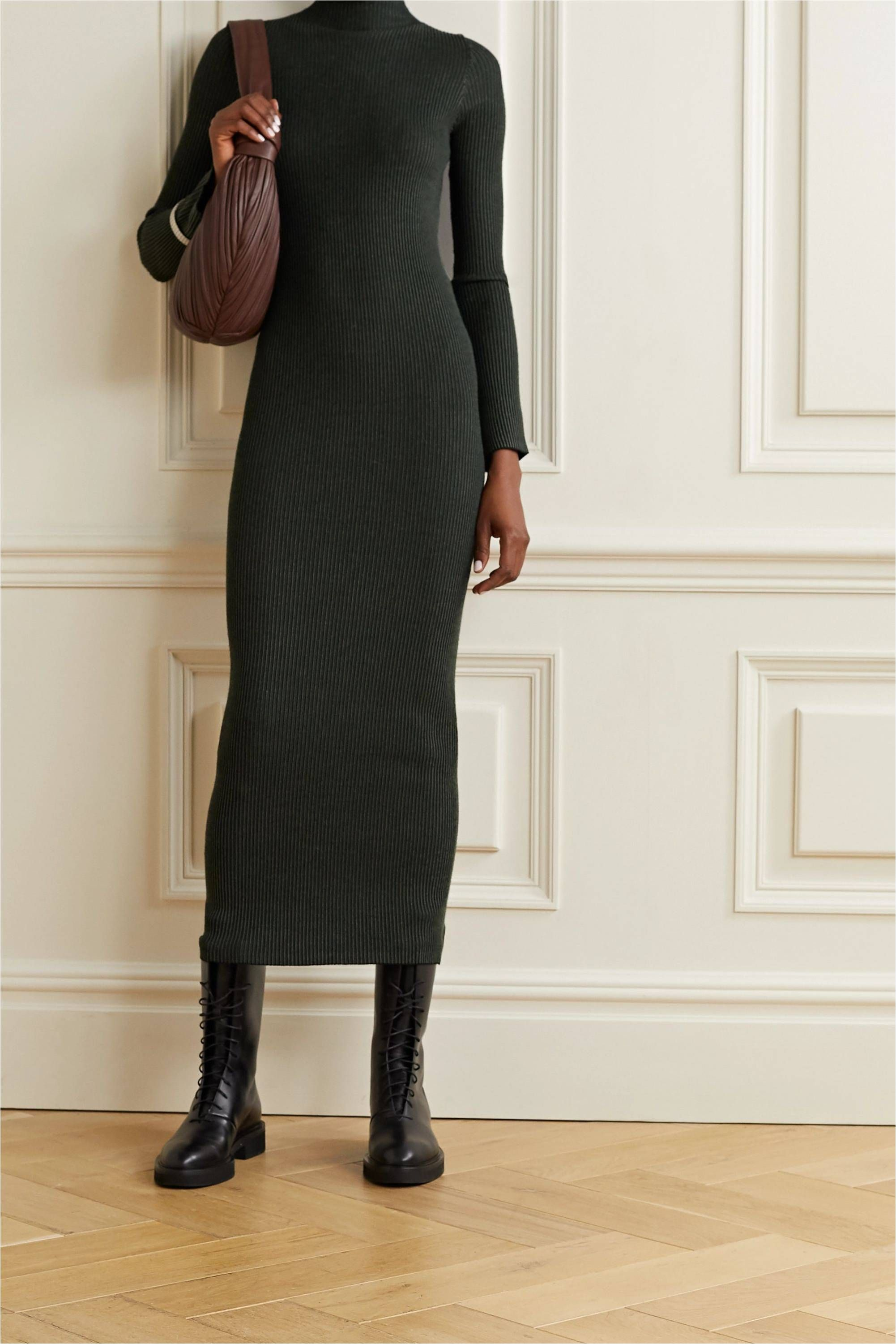The Best Sweater Dresses For Cozy Chic Style 2021 In 2021 Knit Midi Dress Sweater Dress Women Sweater Dress Midi [ 3001 x 2002 Pixel ]