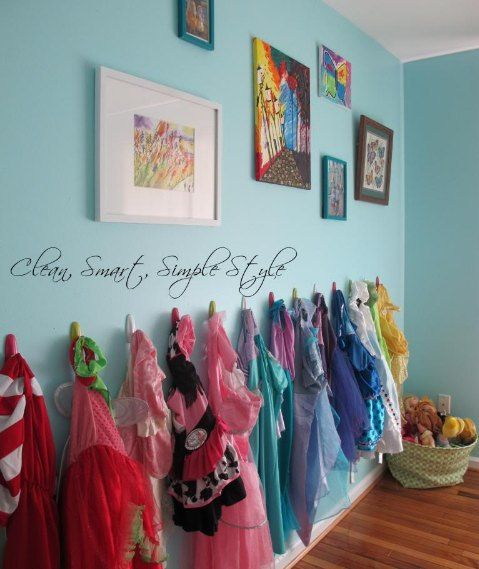 S Dress Up Storage On The Wall Will Keep Things Organized But She Can See What Has To Play With Perfect Idea If You Have Room