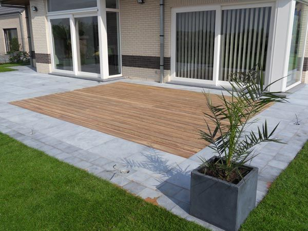 Pose et placement de terrasses en bois, Terrasses La terrasse en