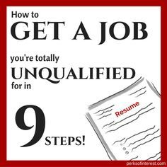 Resume See My Nine Foolproof Steps For Perfecting Your Resume And Preparing For  AND NAILING A Job