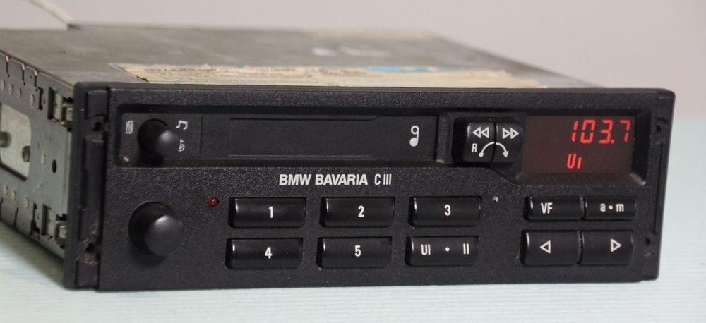 bmw blaupunkt bavaria c iii tape radio e28 e30 e31 e32 e34. Black Bedroom Furniture Sets. Home Design Ideas