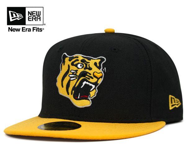 new product 3a6be 7ffcf onspotz   Rakuten Global Market  New era Cap Japan professional baseball  Hanshin Tigers black cap NEWERA 59FIFTY HANSHIN TIGERS BLACK  CP  B