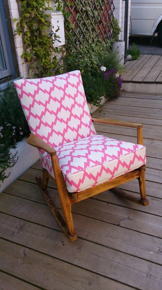 This Has Been Used As A Nursing Chair For Several Generations Of Hayleyu0027s  Family And Has Been Revamped For The Imminent Arrival Of Her New B