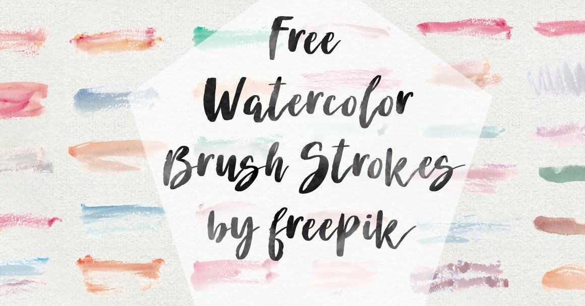 Free Watercolor Brush Strokes Brush Strokes Watercolor Brushes