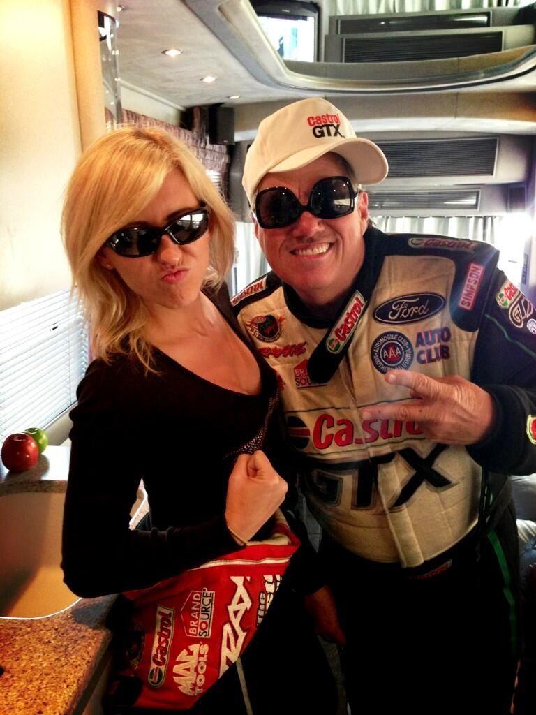 John and Courtney Nhra drag racing cars, Drag racing cars