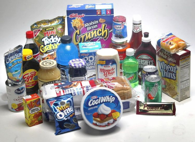 High-fructose corn syrup is found in many products, many of which are aimed and children.