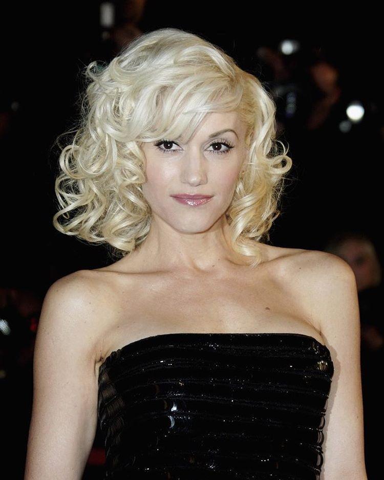 Gwen Stefani - Black Sequin Dress   Gwen & No Doubt   Pinterest ...