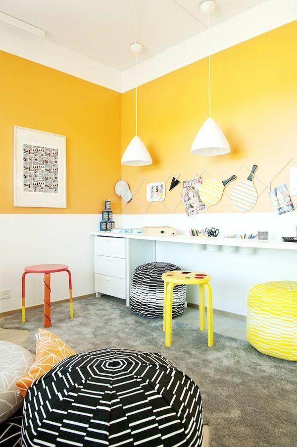 Bunte Wandfarbe zur Auswahl für Ihr ganz persönliches