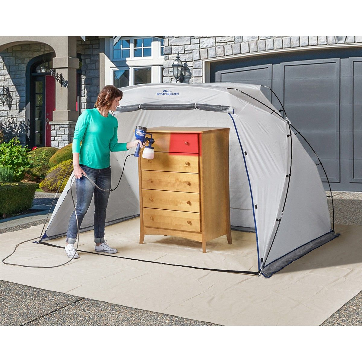 Large Spray Paint Shelter Spray Paint Furniture Diy Tent