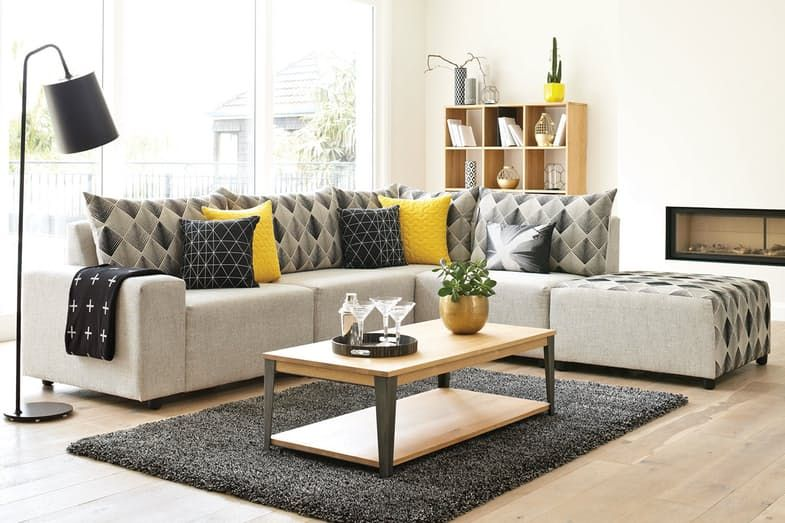 Zone Corner Lounge With Chaise By Furniture Haven Green Grade Harvey Norman New Zealand Furniture Lounge Suites Living Room Corner