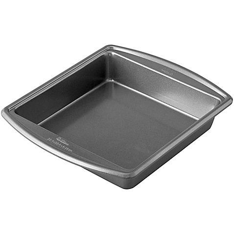 Wilton® Advance Select™ Premium Nonstick 9-Inch Square Cake Pan in Gunmetal