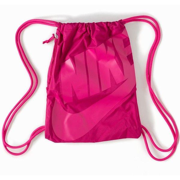 pico Transistor equilibrar  Nike Heritage Age Gymsack | Nike purses, Nike handbags, Pink gym bags