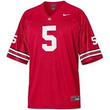 finest selection 46e44 08fb6 Nike Ohio State Buckeyes #5 Braxton Miller red OSU jersey ...