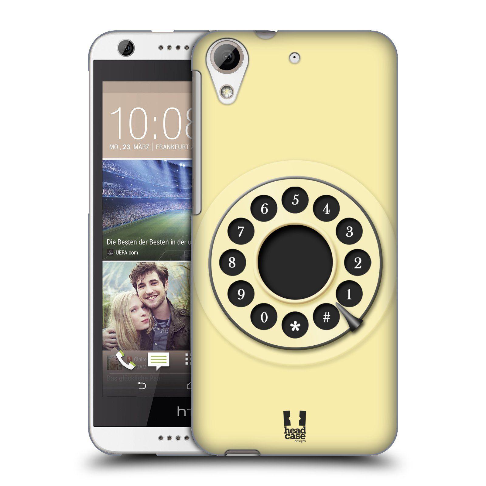 100% authentic af58b 21d09 Head Case Designs Retro Phones Hard Back Case for HTC Desire 626 ...