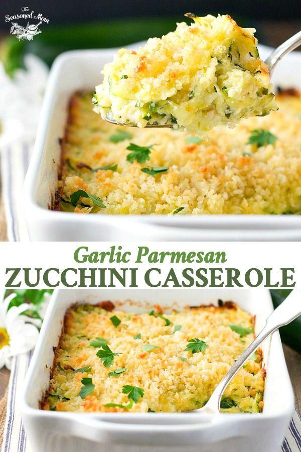 Garlic Parmesan Zucchini Casserole images