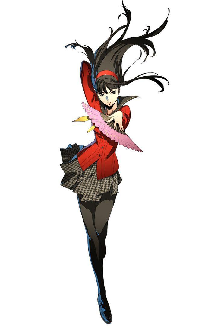 Persona 4 Anime Characters : Yukiko amagi characters art persona arena c d a