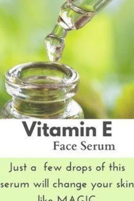 diy vitamin e face serum that works great on your skin