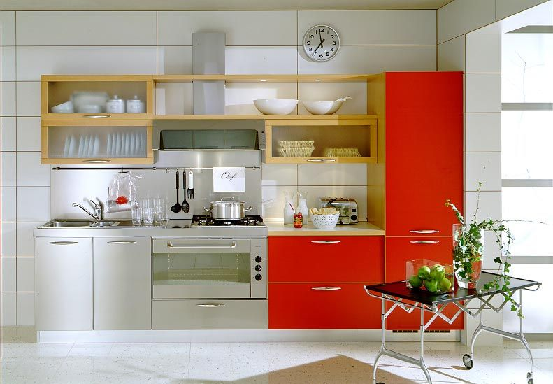 21 cool small kitchen design ideas kitchen design small spaces and kitchens - Modern kitchen for small house ...