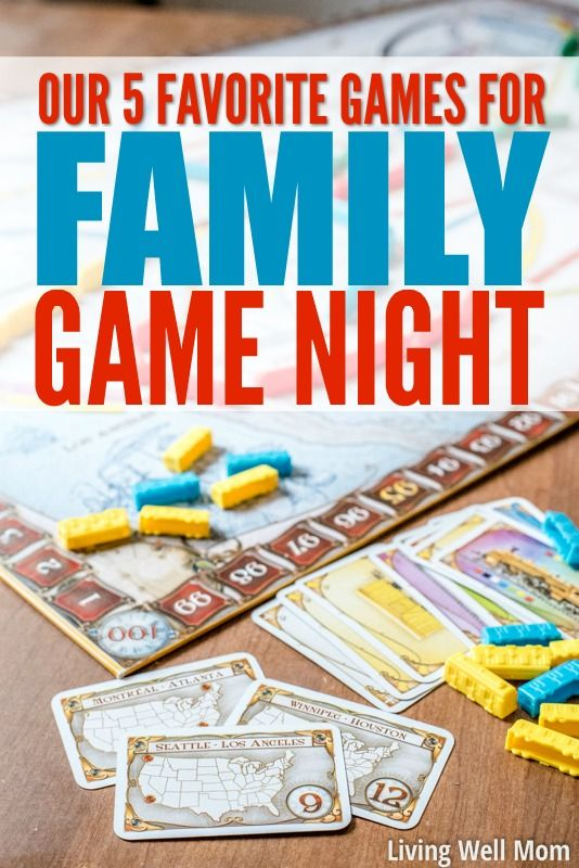 our 5 favorite family games for game night creative kids