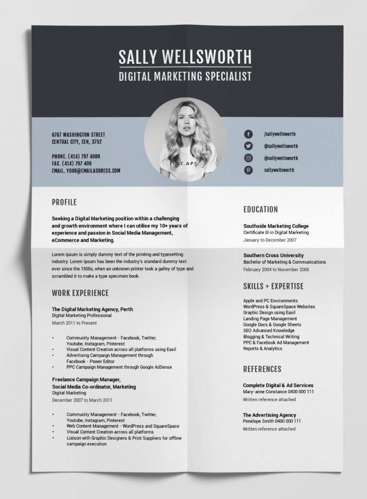 12 Best Free Resume Templates Tips On How To Stand Out Resume Cv Curriculumvitae In 2021 Best Free Resume Templates Resume Template Free Resume Design Free