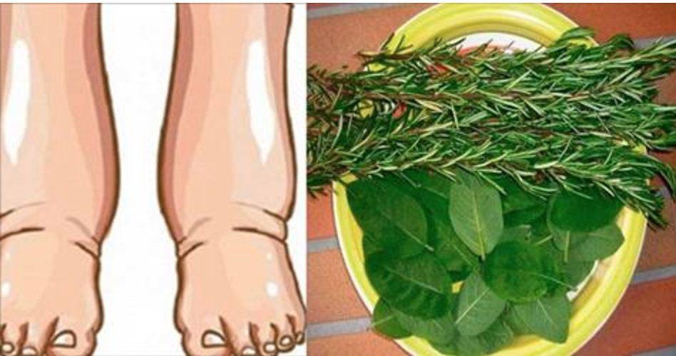 reduzir pés e pernas inchados