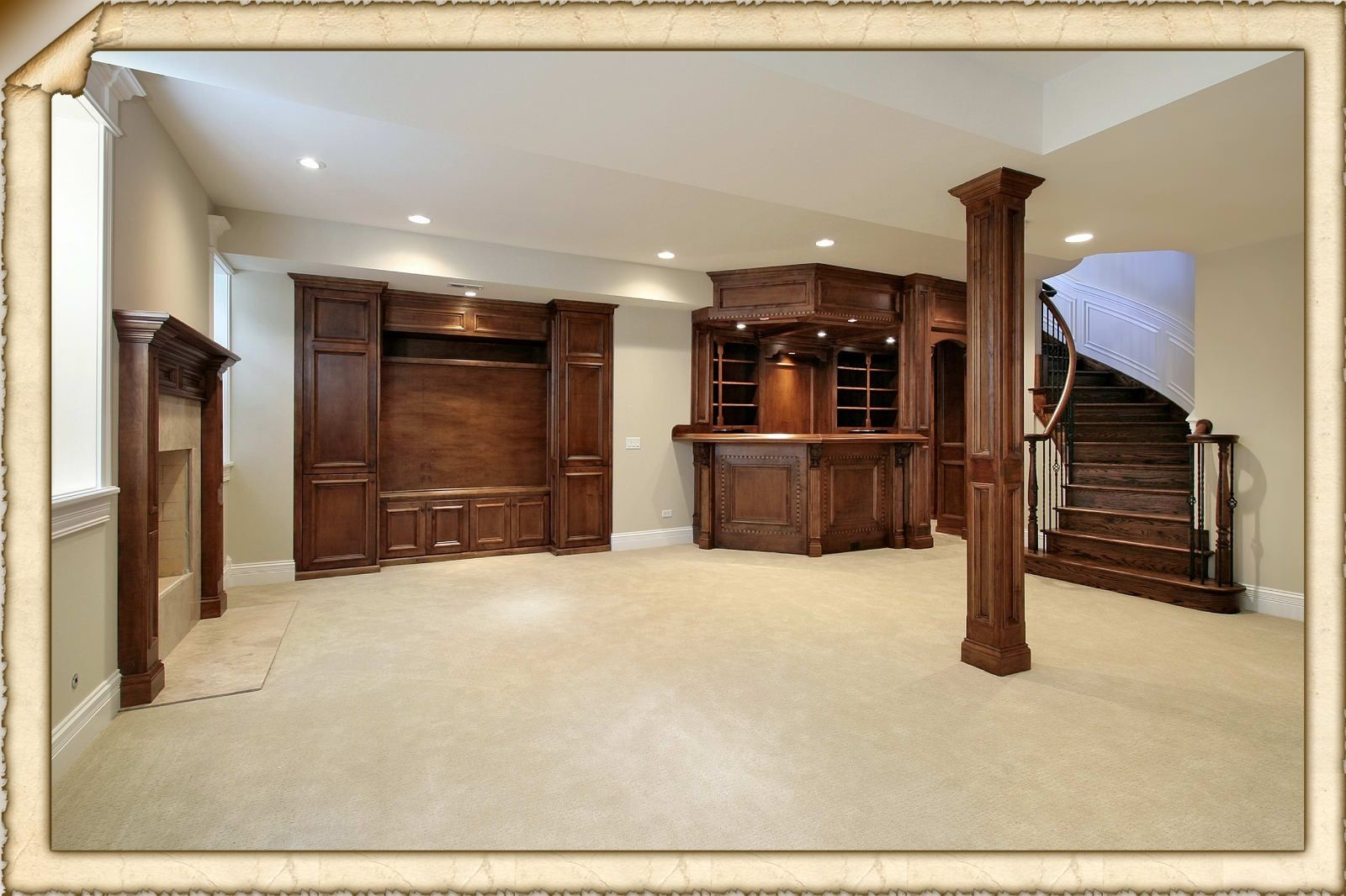 Basement Finishing Ideas Pictures Delectable Inspiration
