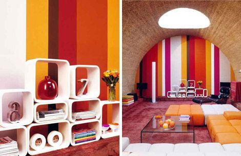 Impressive Retro Interior Design Perfect Interior Decor Home
