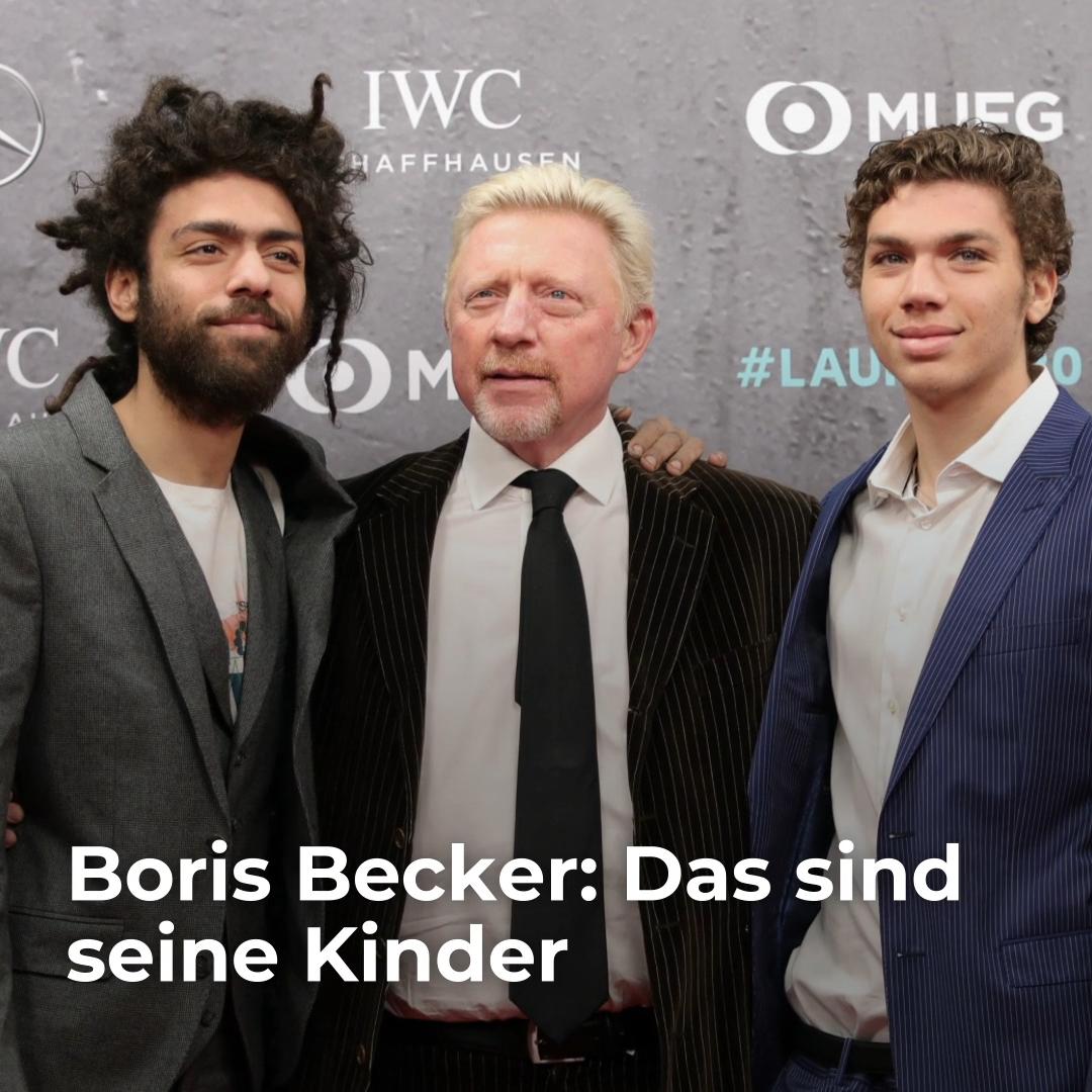 Boris Becker Das Sind Seine Kinder Video Video Boris Becker Vier Kinder Tennisspieler